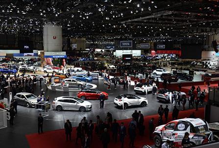 Salon auto en France