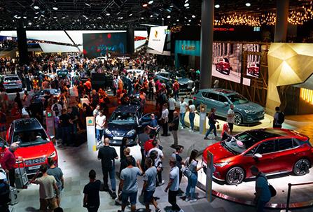 Salons auto en Allemagne