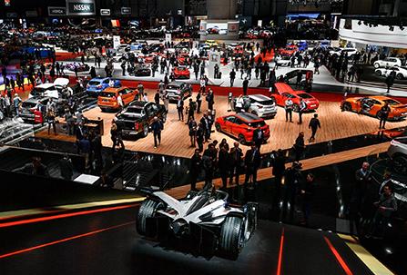 Salons auto en Suisse